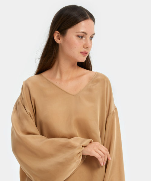 Women's Sleepwear | Puff Sleeve Top | Nap - The Luxury Sleepwear