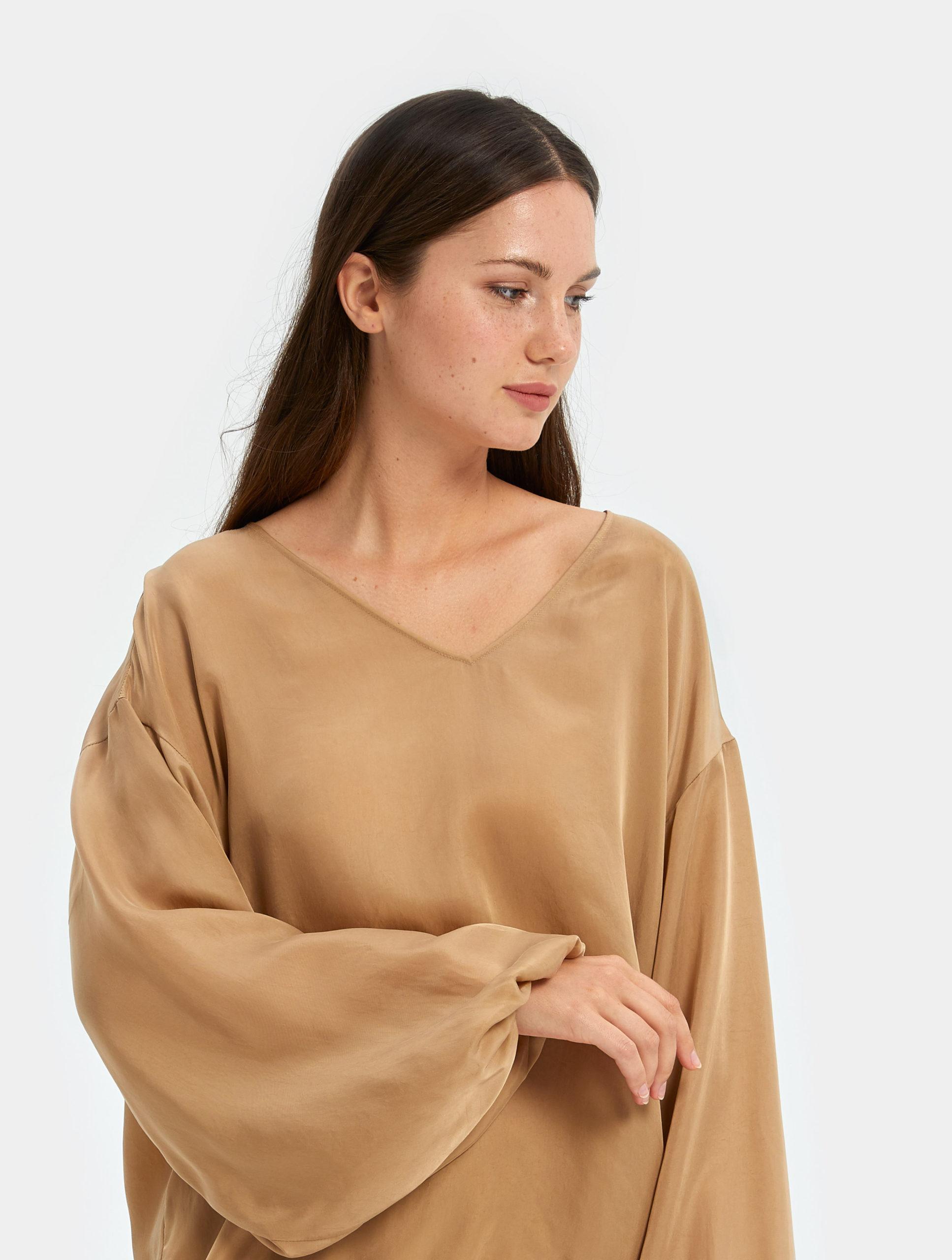 Women's Sleepwear   Puff Sleeve Top   Nap - The Luxury Sleepwear