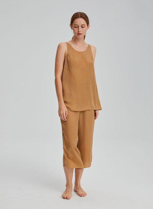 Tank Top & Wide-Leg Pants Set