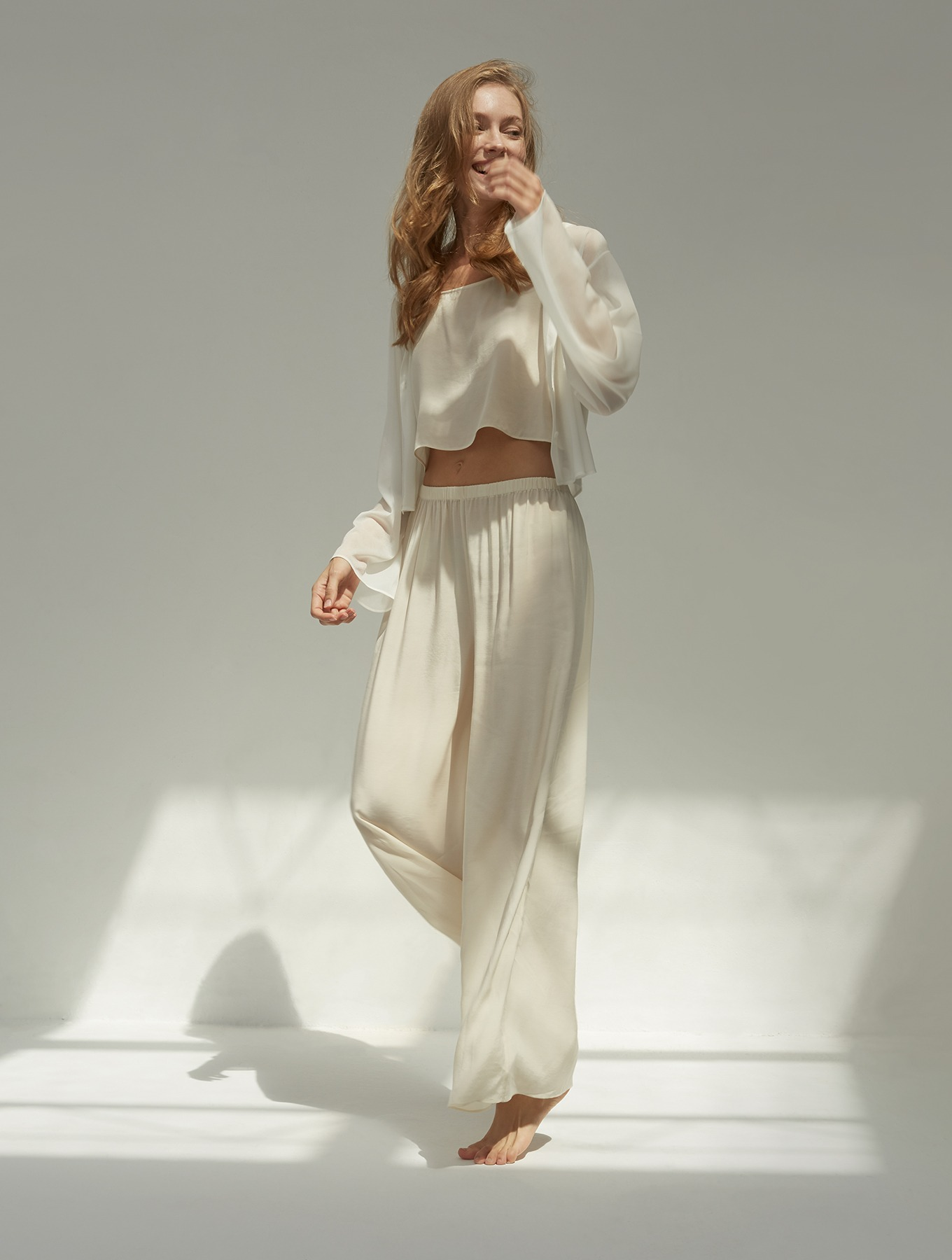 Cool Silk Wide-leg Pants_001