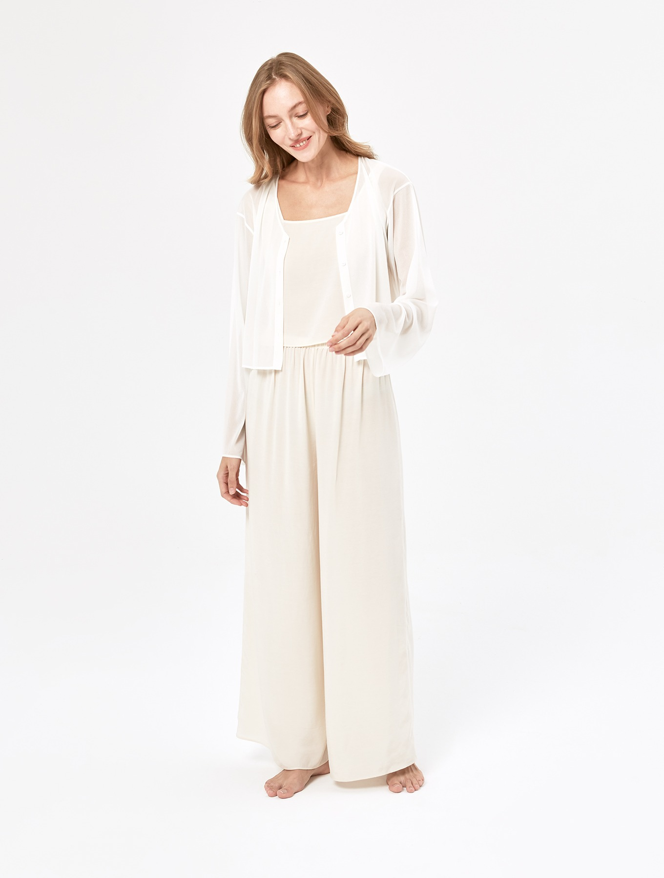 Cool Silk Wide-leg Pants_004