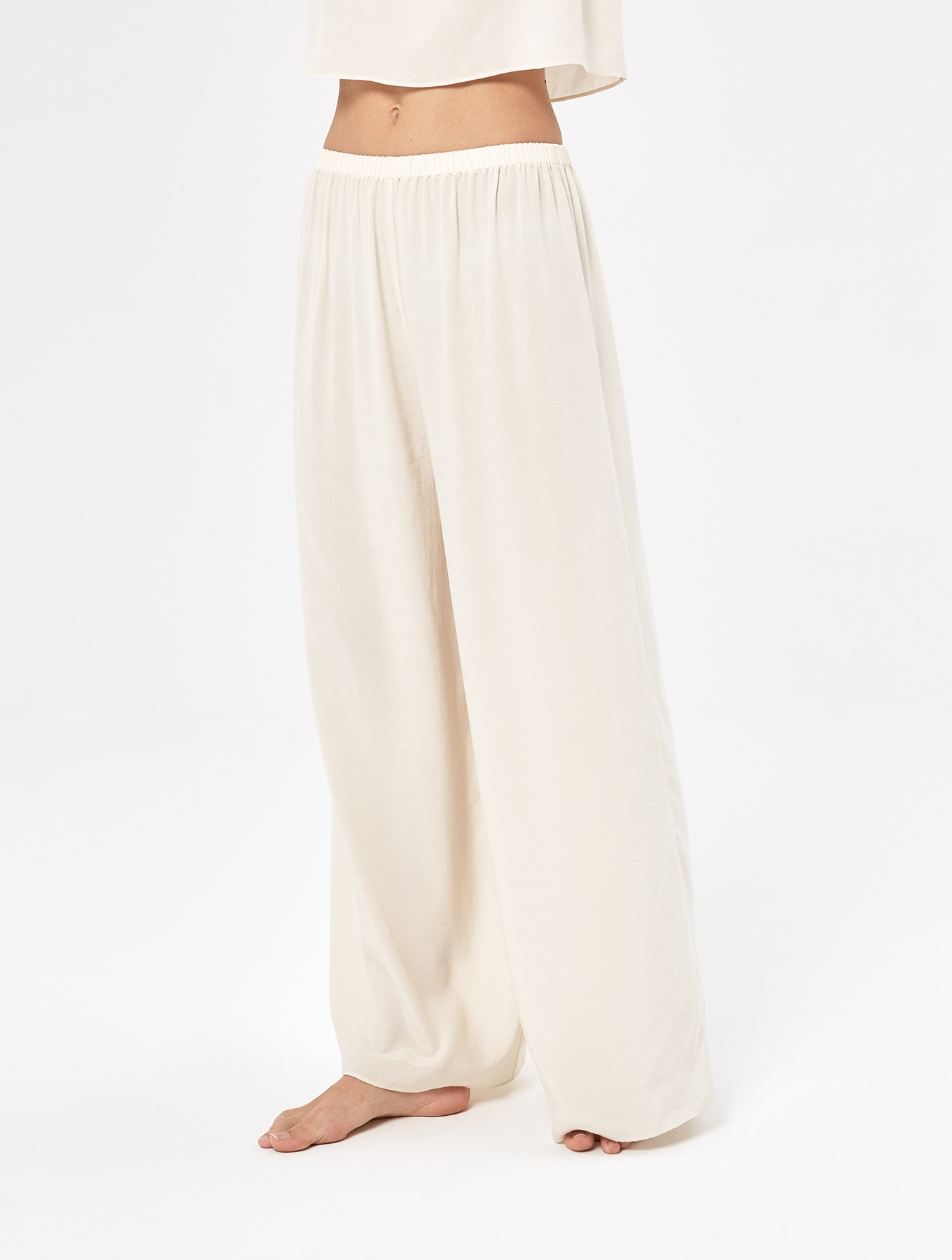 Cool Silk Wide-leg Pants_005