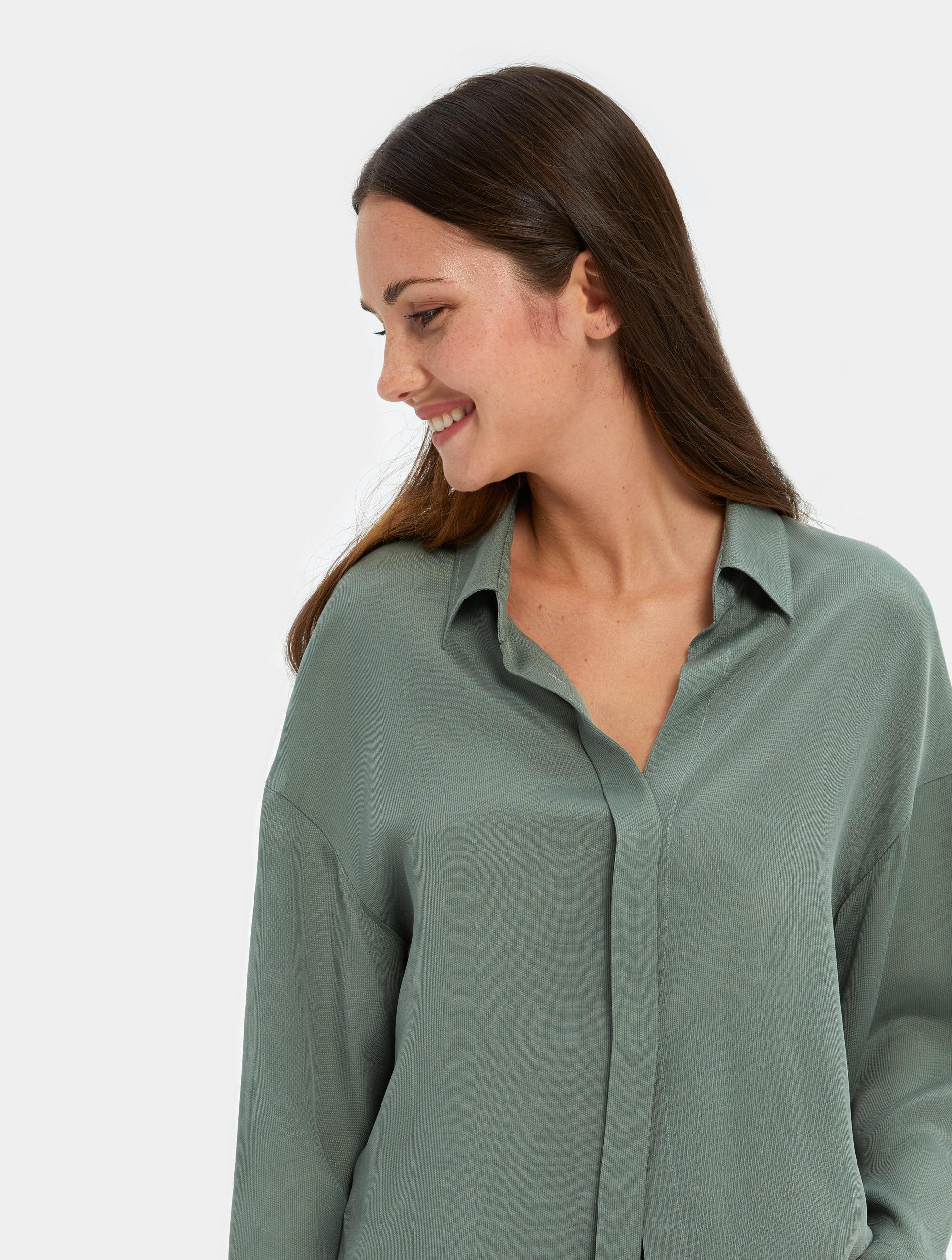 Best Women's Sleepwear - Turn Down Collar Shirt   Nap Sleepwear