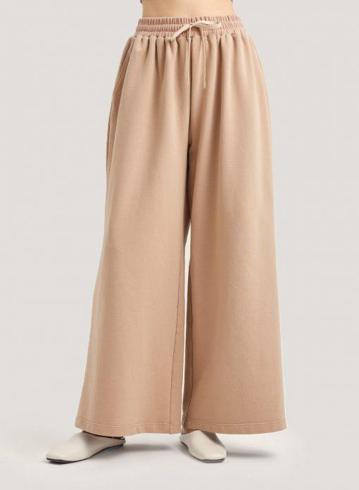 Casual Loose High Waisted Wide-Leg Sweatpants
