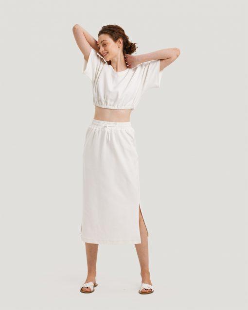 Crop Top & Long Skirt Set