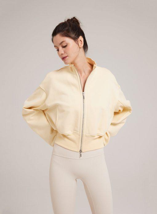 Casual Cotton Full Zip Jacket