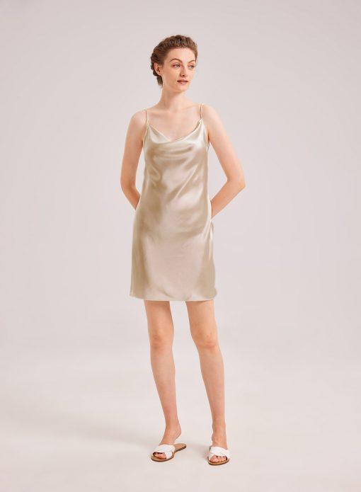 Silky Mini Dress