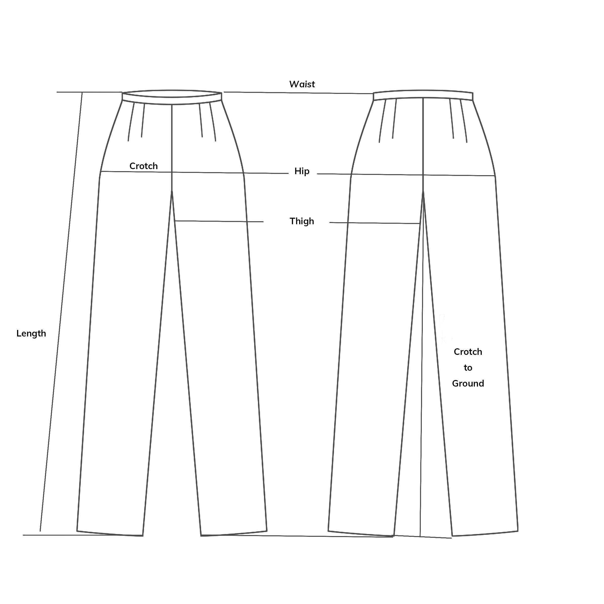 Rayon Cropped Pants