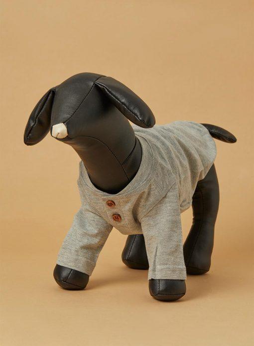 Dog Button Top