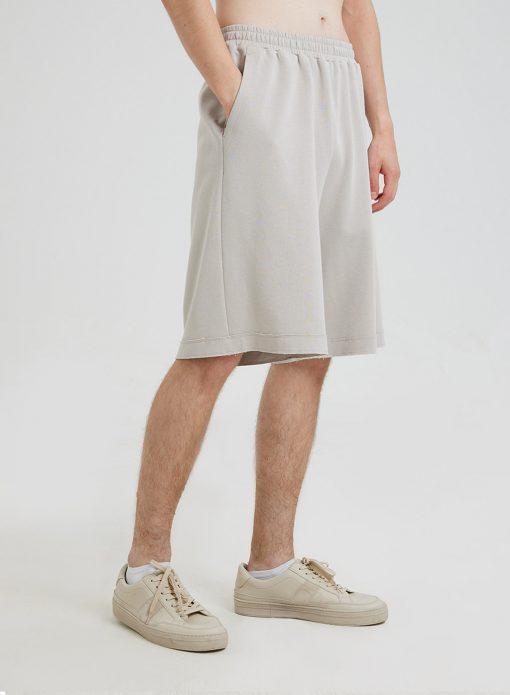 Cotton Knee Length Shorts