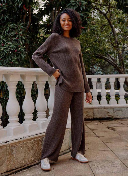 Cashmere Pullover Set